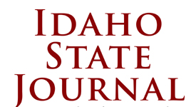 Idaho State Journal Scroll
