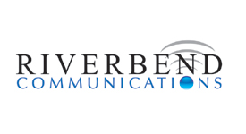 Riverbend Communications Logo Scroll